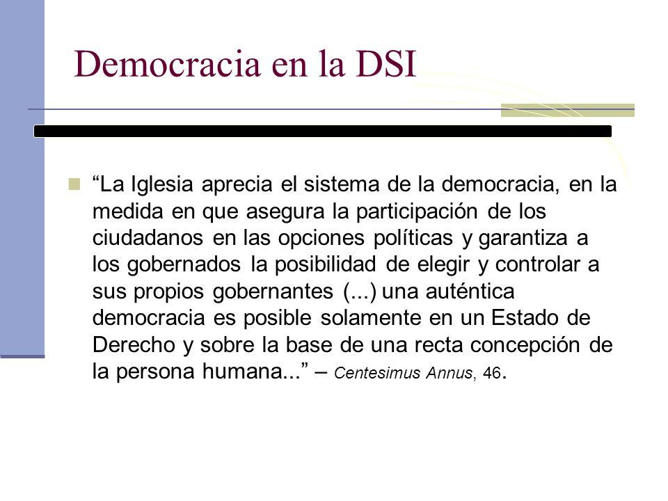 Democracia en la DSI