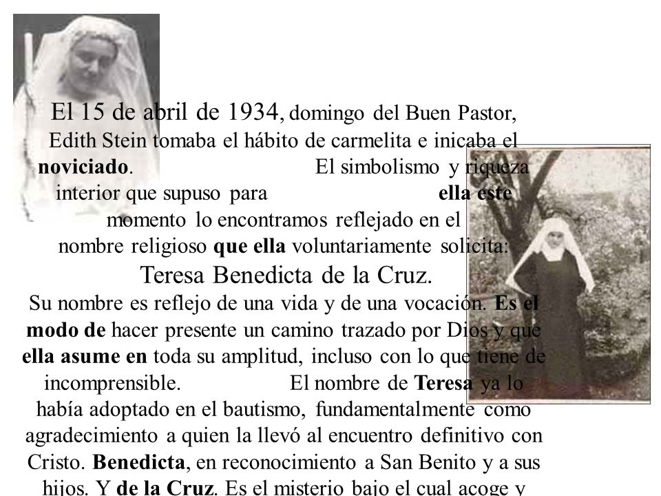 El 15 de abril de 1934, domingo del Buen Pastor,