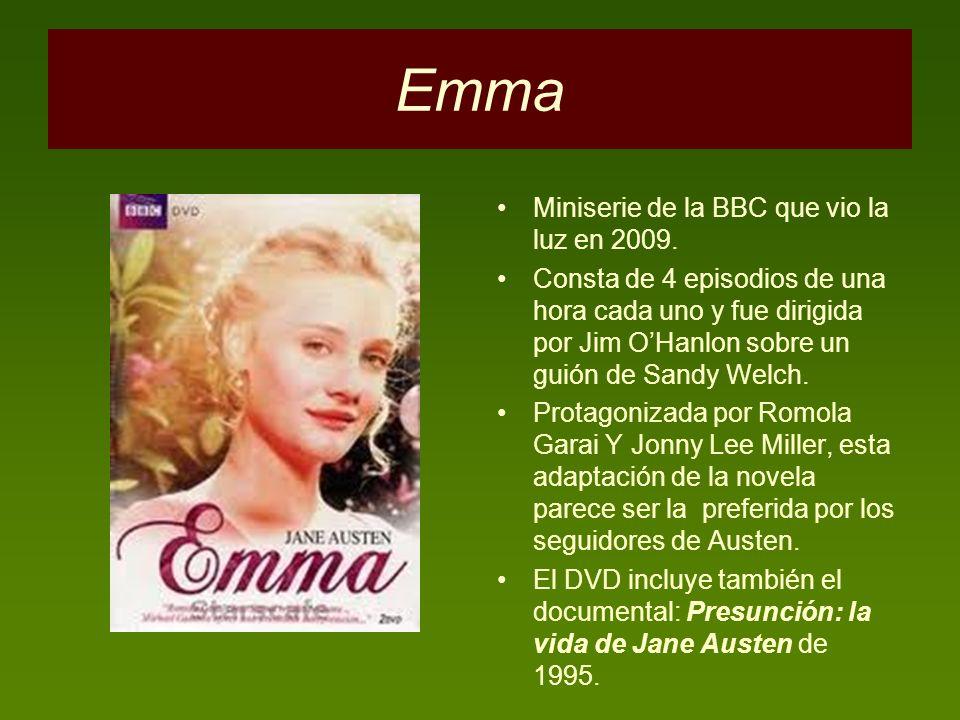 Emma Miniserie de la BBC que vio la luz en 2009.