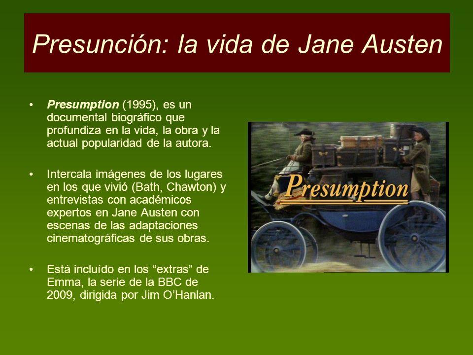 Presunción: la vida de Jane Austen