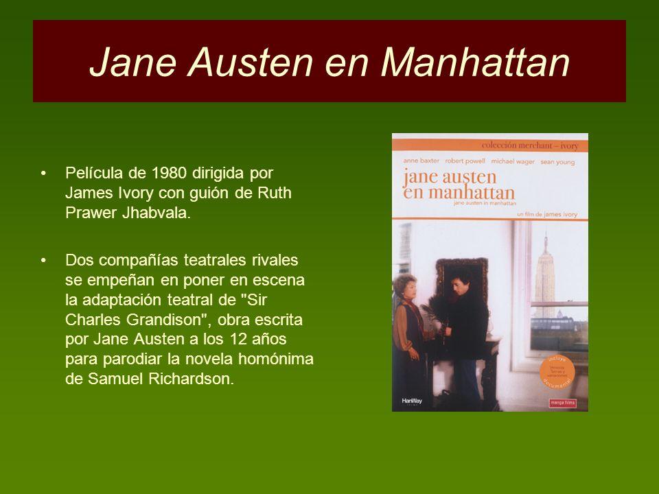 Jane Austen en Manhattan
