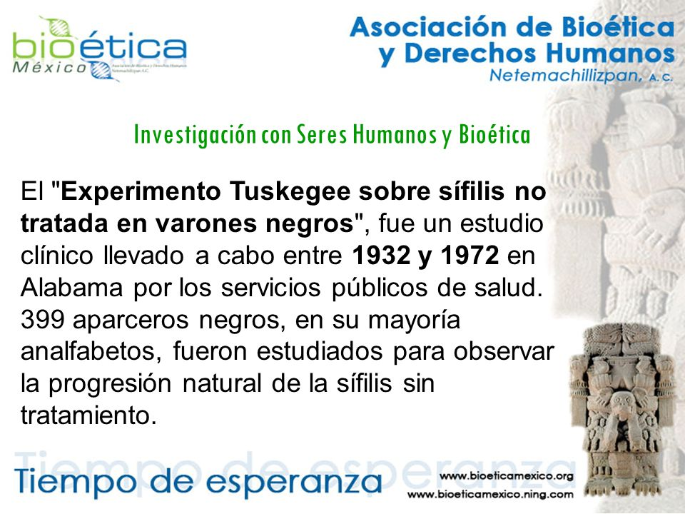 Investigación con Seres Humanos y Bioética