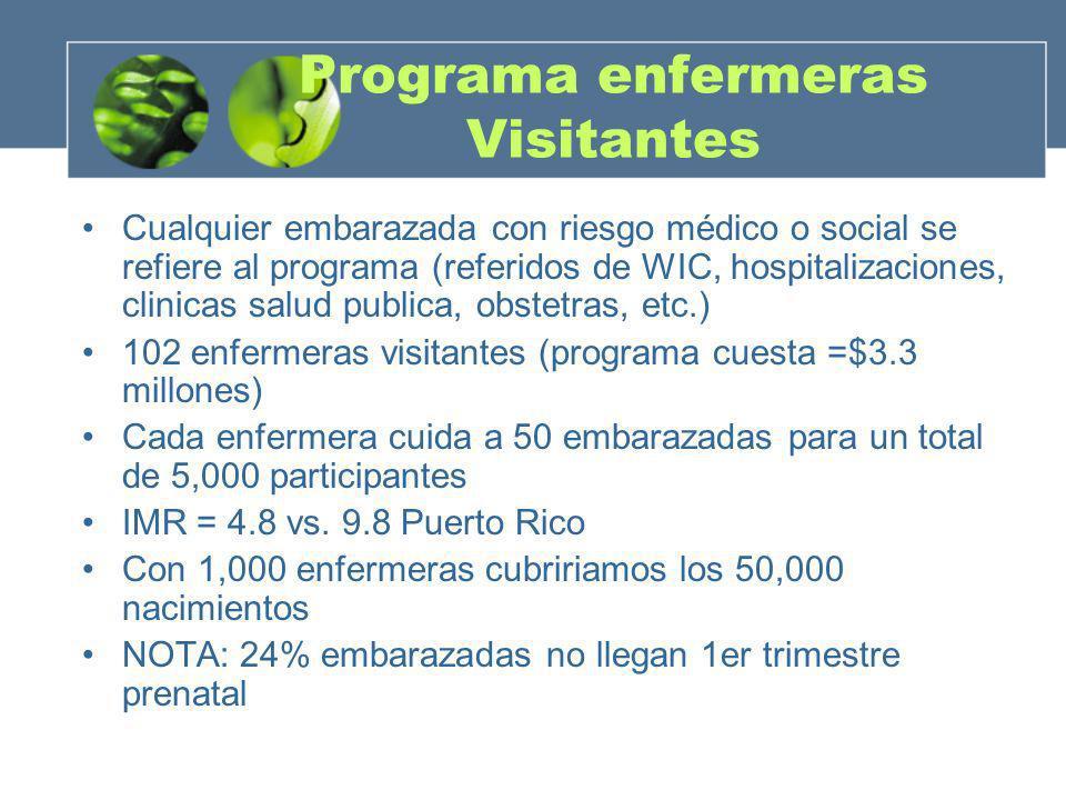Programa enfermeras Visitantes