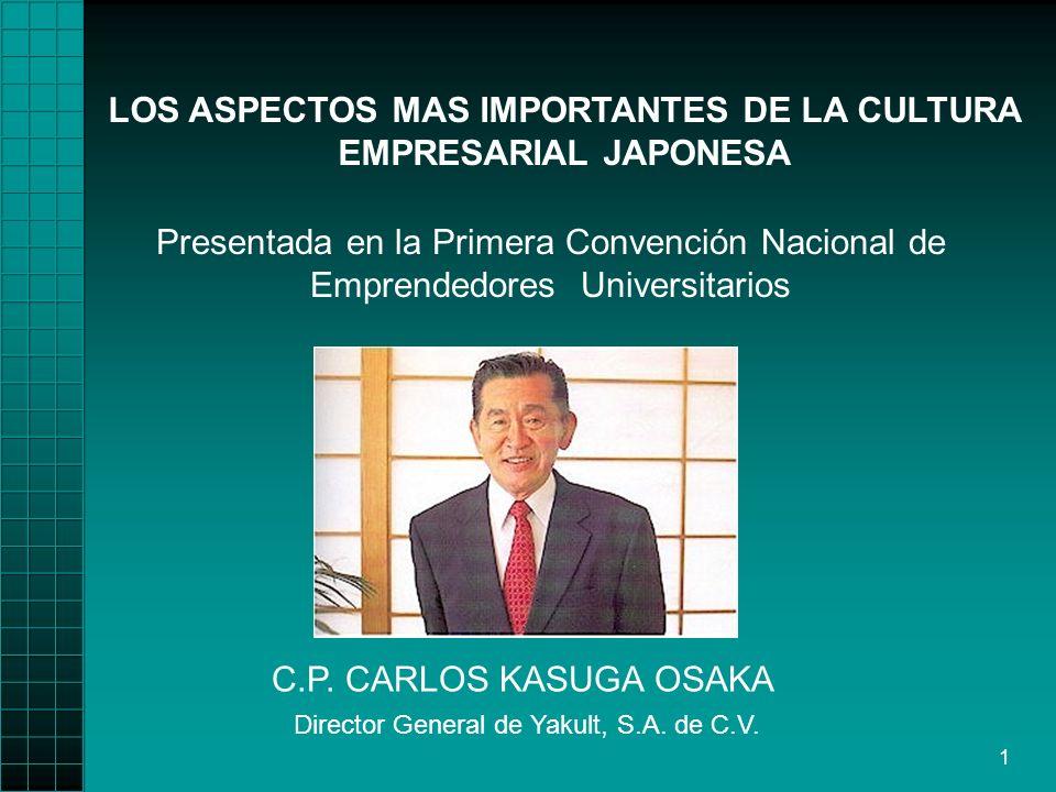LOS ASPECTOS MAS IMPORTANTES DE LA CULTURA EMPRESARIAL JAPONESA