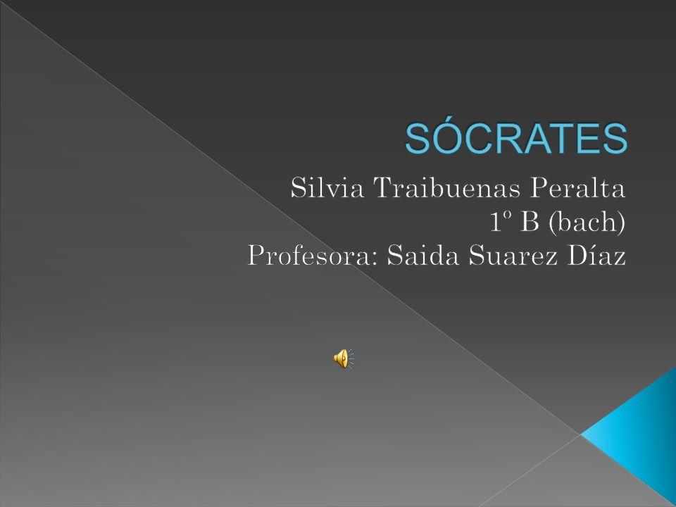 Silvia Traibuenas Peralta 1º B (bach) Profesora: Saida Suarez Díaz