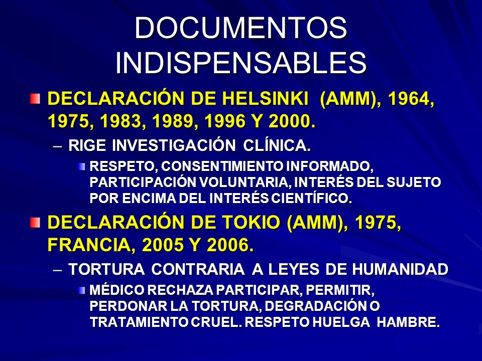 DOCUMENTOS INDISPENSABLES