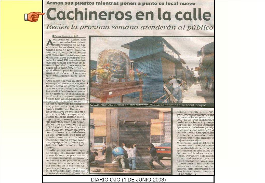 DIARIO OJO (1 DE JUNIO 2003)