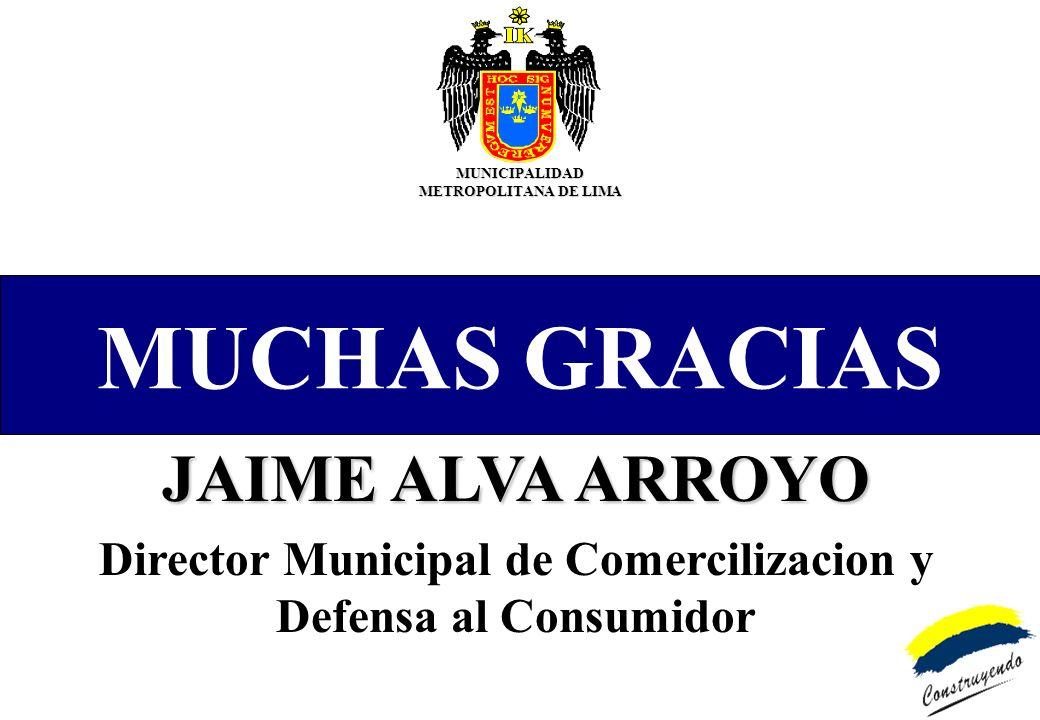 MUCHAS GRACIAS JAIME ALVA ARROYO