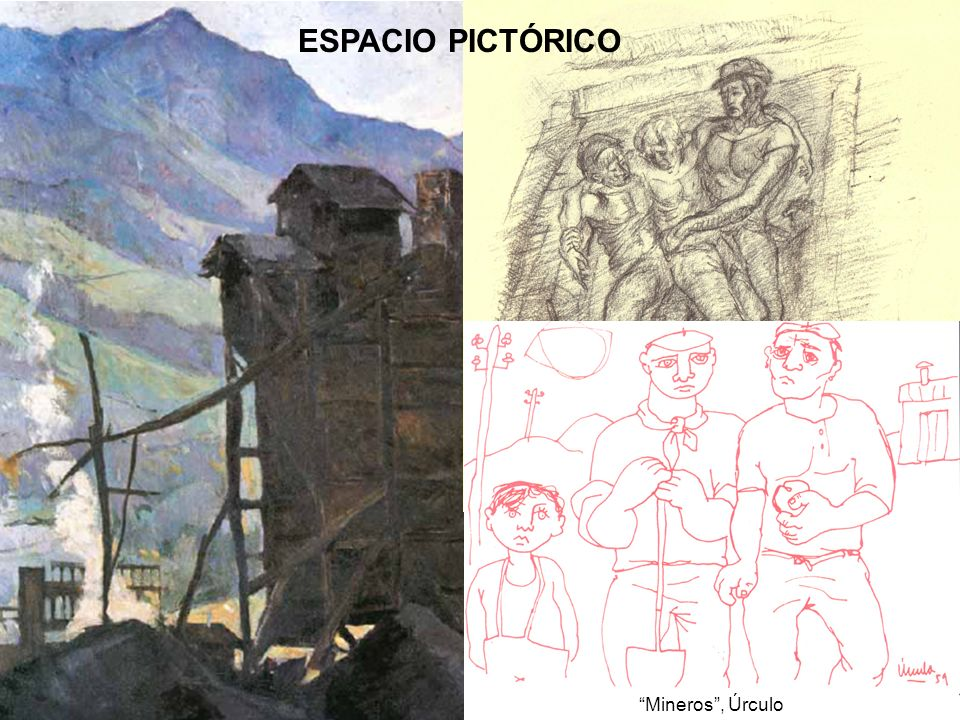 El accidente , Urbina ESPACIO PICTÓRICO Mineros , Úrculo