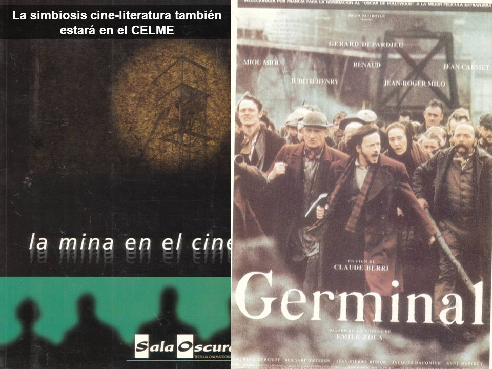 La simbiosis cine-literatura también estará en el CELME