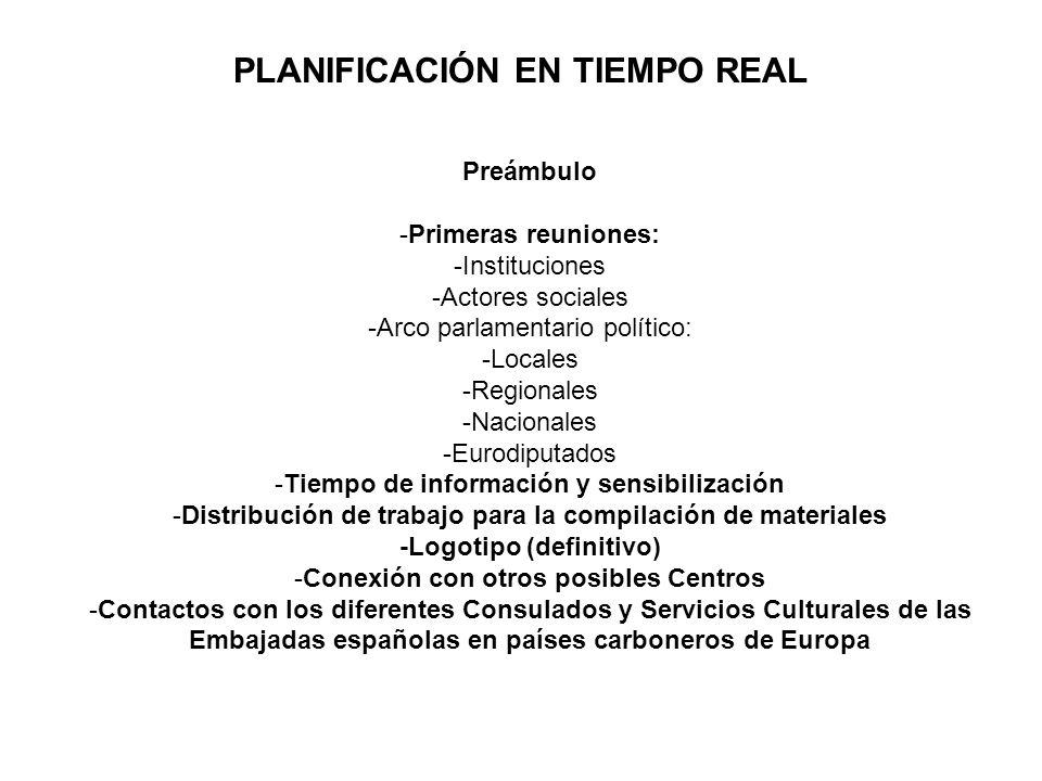 PLANIFICACIÓN EN TIEMPO REAL