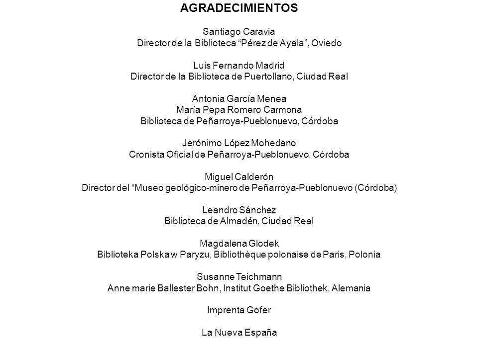 AGRADECIMIENTOS Santiago Caravia