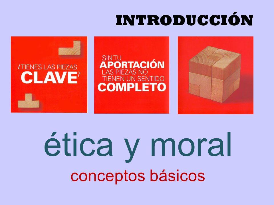 ética y moral conceptos básicos
