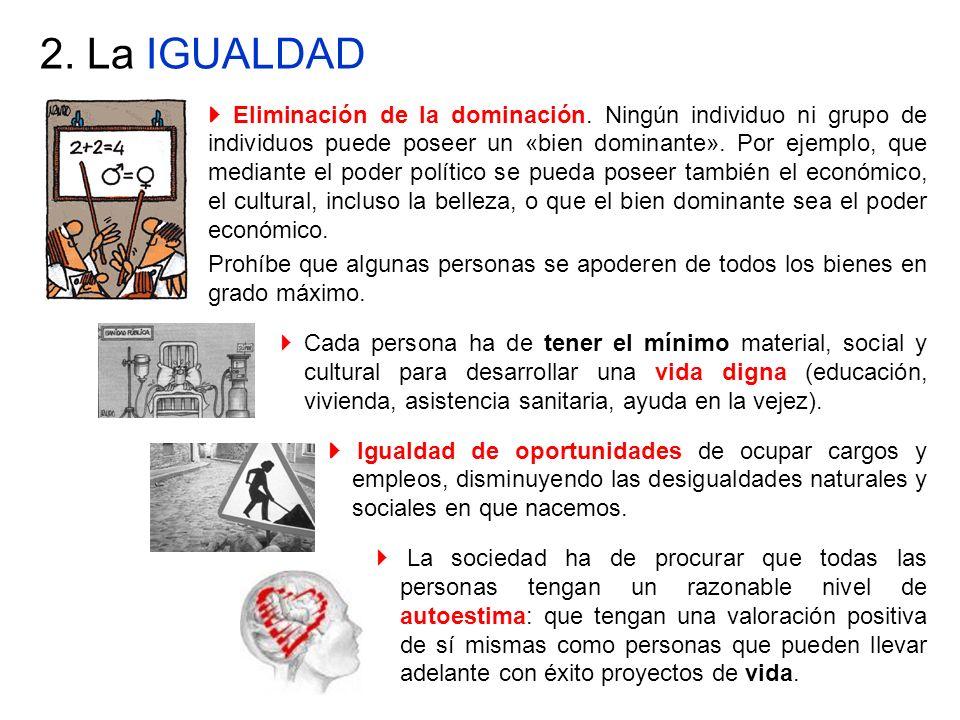 2. La IGUALDAD