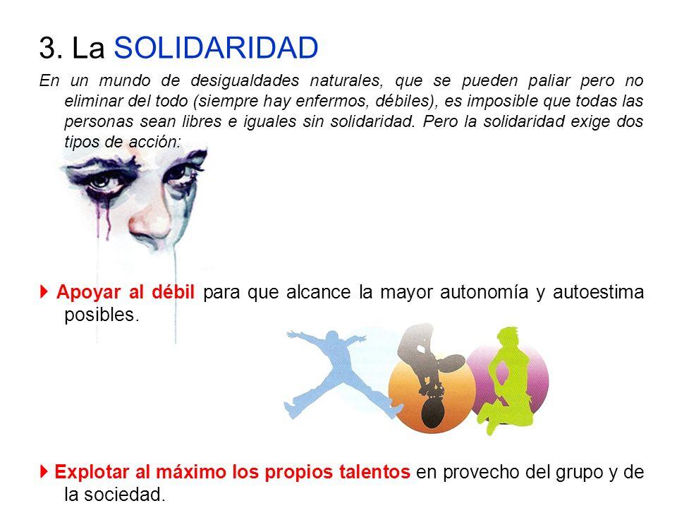 3. La SOLIDARIDAD
