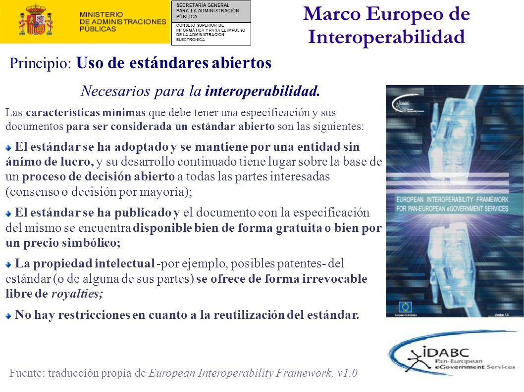 Marco Europeo de Interoperabilidad
