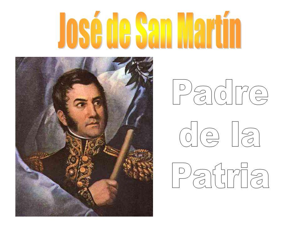 José de San Martín Padre de la Patria