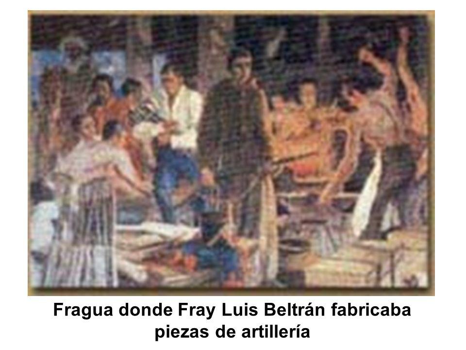 Fragua donde Fray Luis Beltrán fabricaba