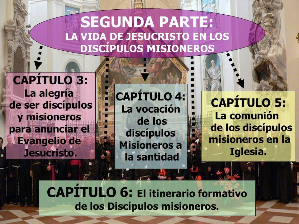 SEGUNDA PARTE: CAPÍTULO 6: El itinerario formativo CAPÍTULO 3:
