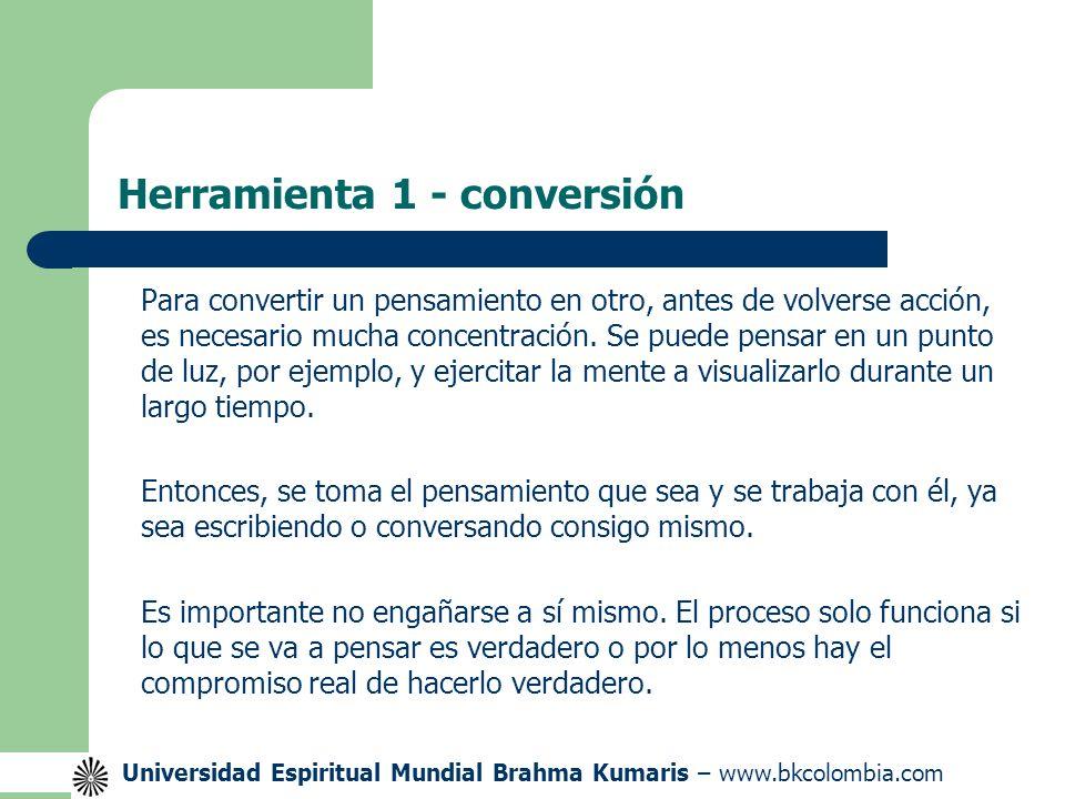 Herramienta 1 - conversión
