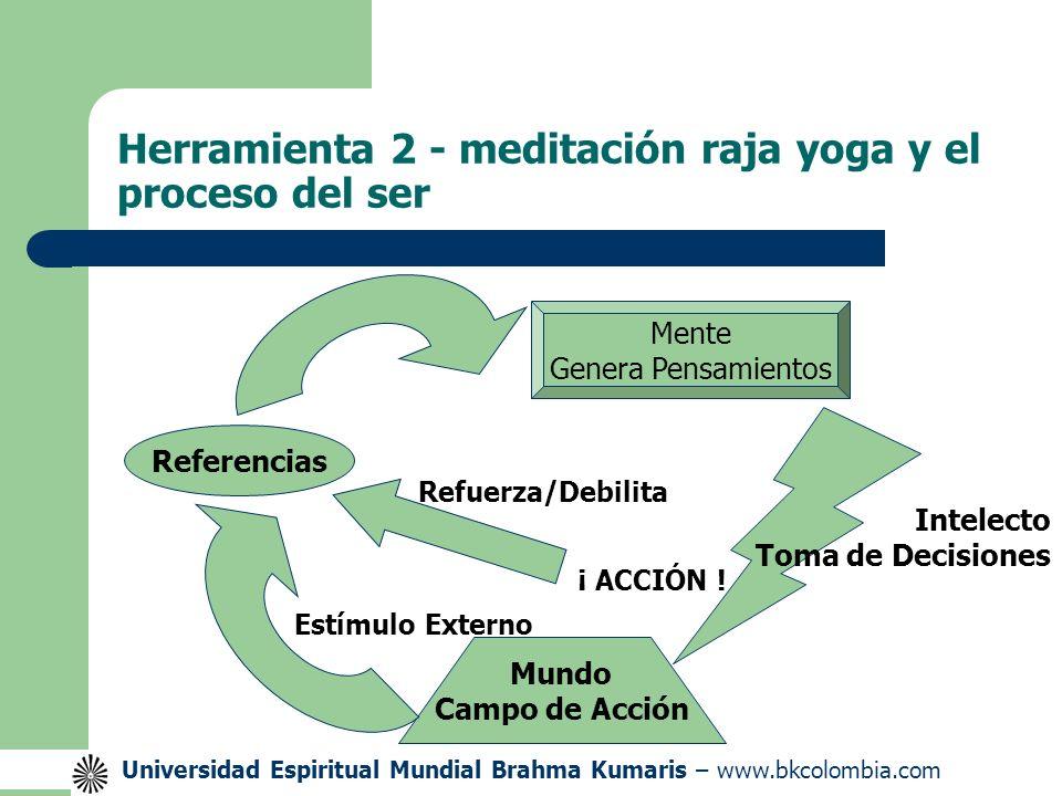 Herramienta 2 - meditación raja yoga y el proceso del ser