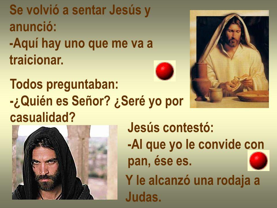 Se volvió a sentar Jesús y