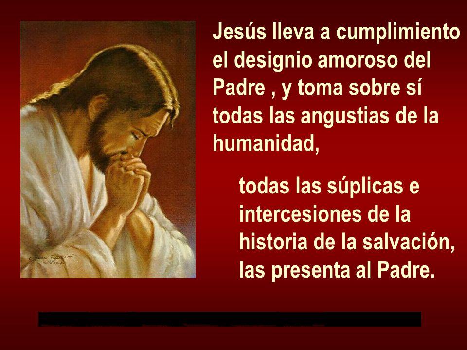 Jesús lleva a cumplimiento