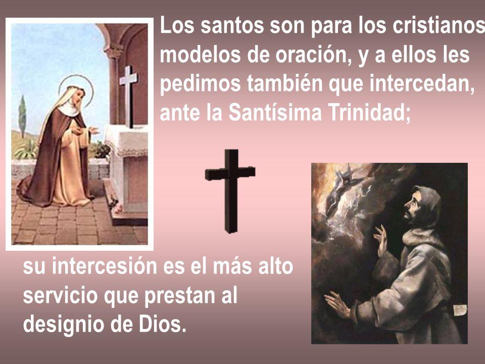 Los santos son para los cristianos