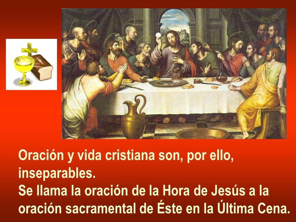 Oración y vida cristiana son, por ello,