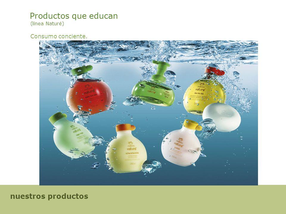 Productos que educan (línea Naturé)