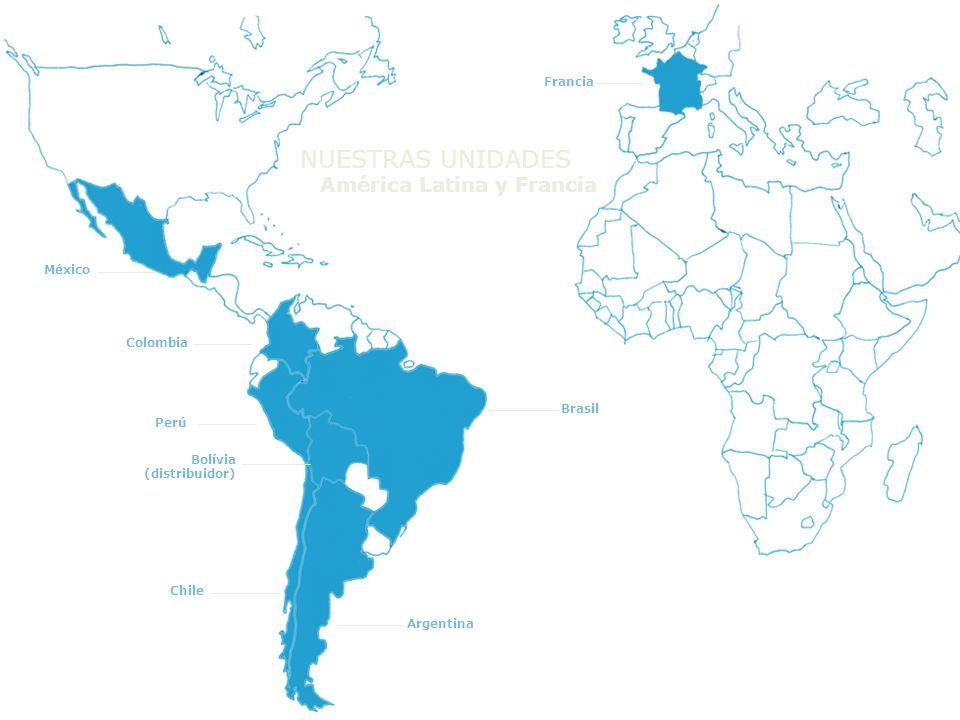 NUESTRAS UNIDADES América Latina y Francia Francia México Colombia
