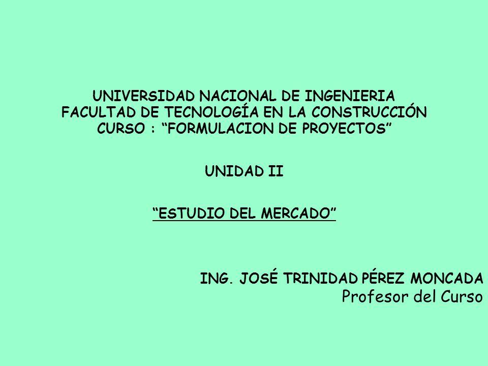 Profesor del Curso UNIVERSIDAD NACIONAL DE INGENIERIA