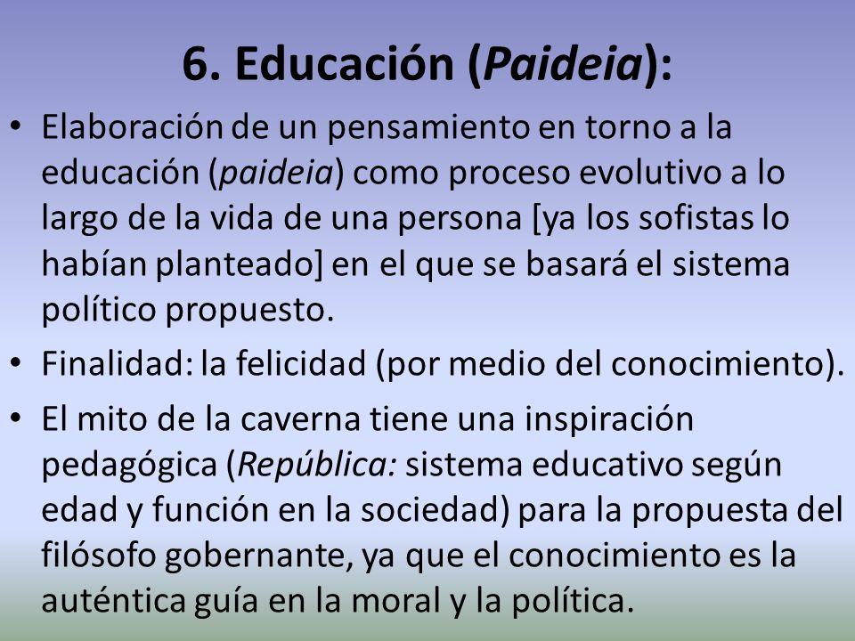 6. Educación (Paideia):