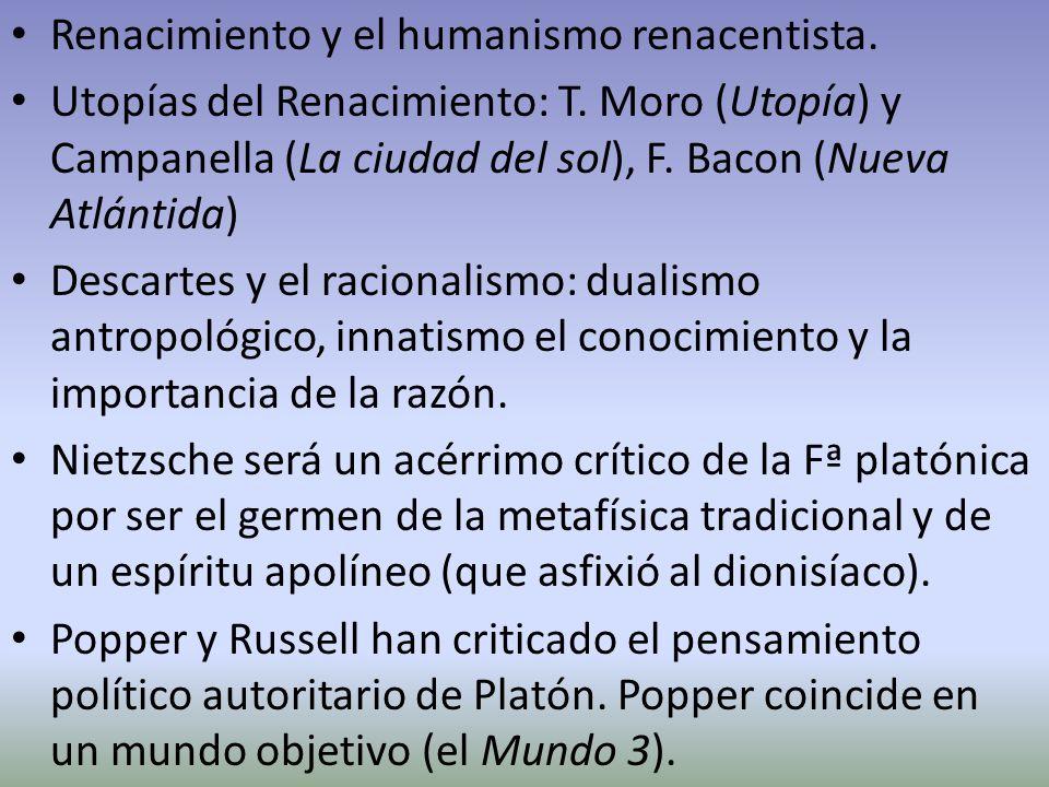 Renacimiento y el humanismo renacentista.