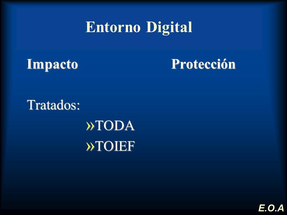 Entorno Digital Impacto Protección Tratados: TODA TOIEF E.O.A