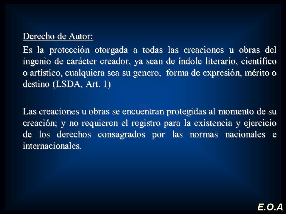 Derecho de Autor: