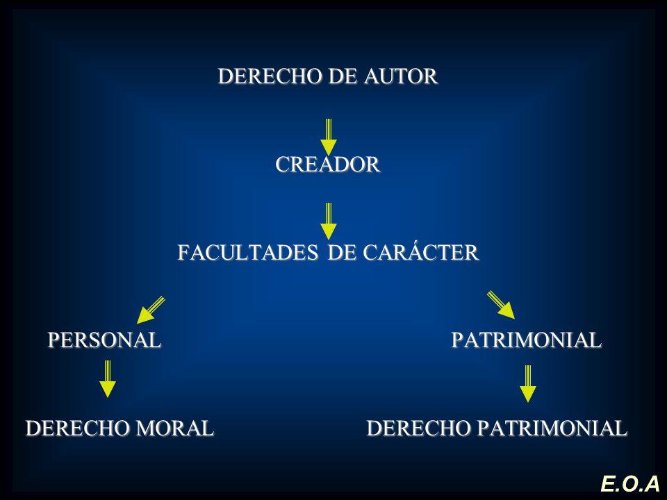 FACULTADES DE CARÁCTER