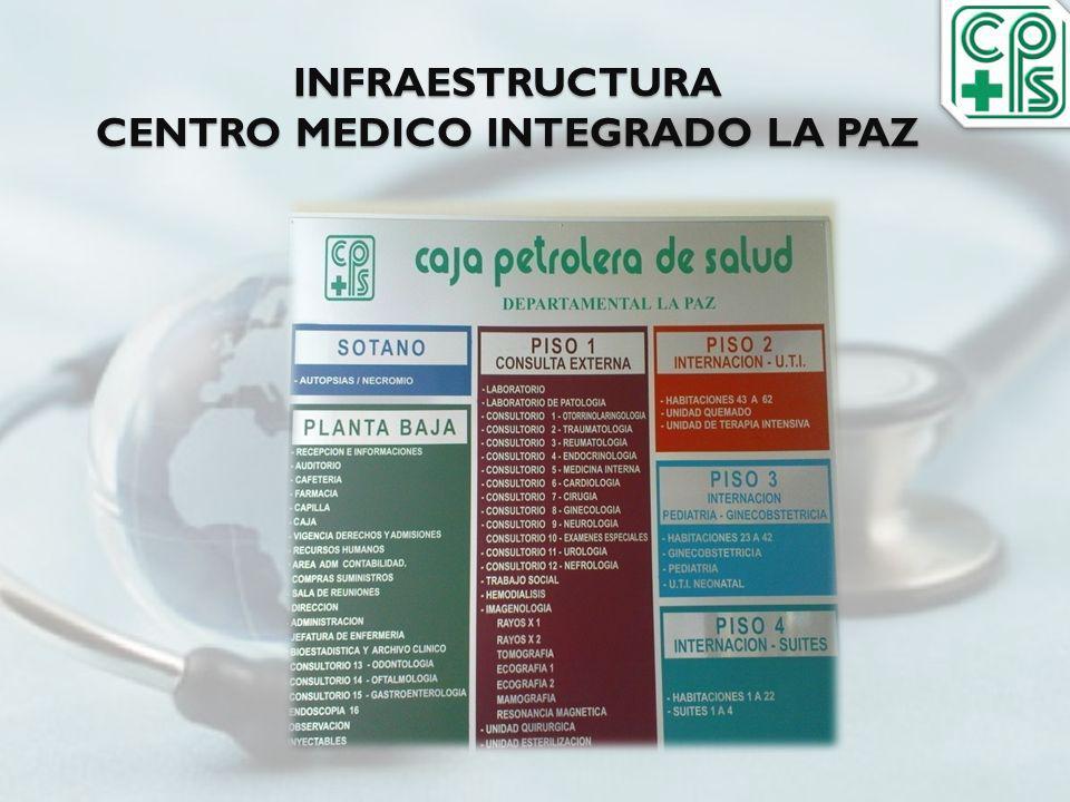 INFRAESTRUCTURA CENTRO MEDICO INTEGRADO LA PAZ
