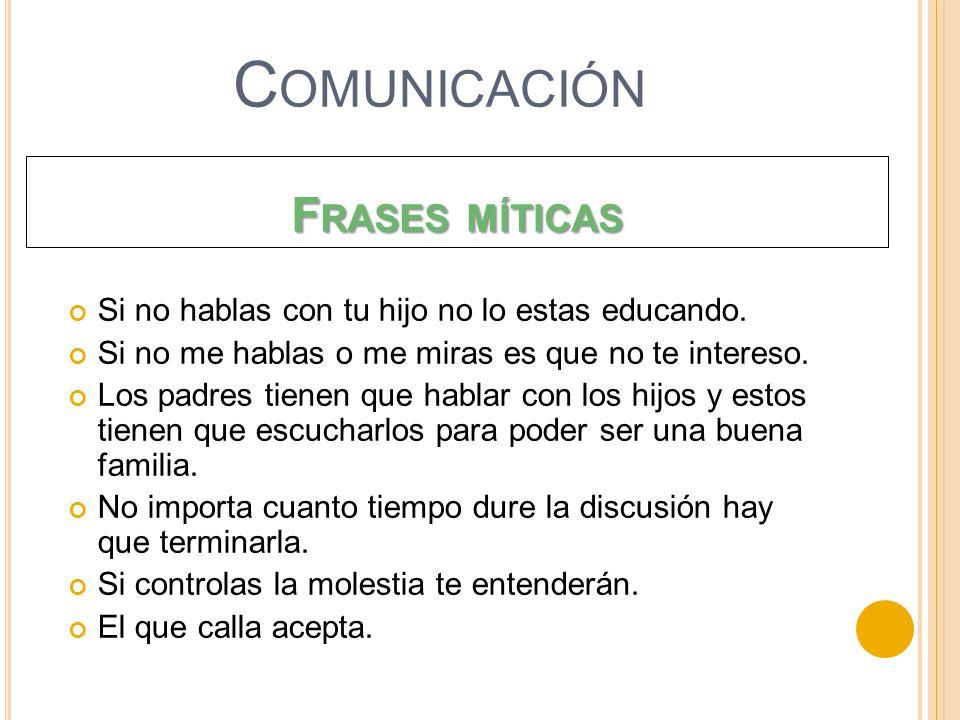 Comunicación Frases míticas