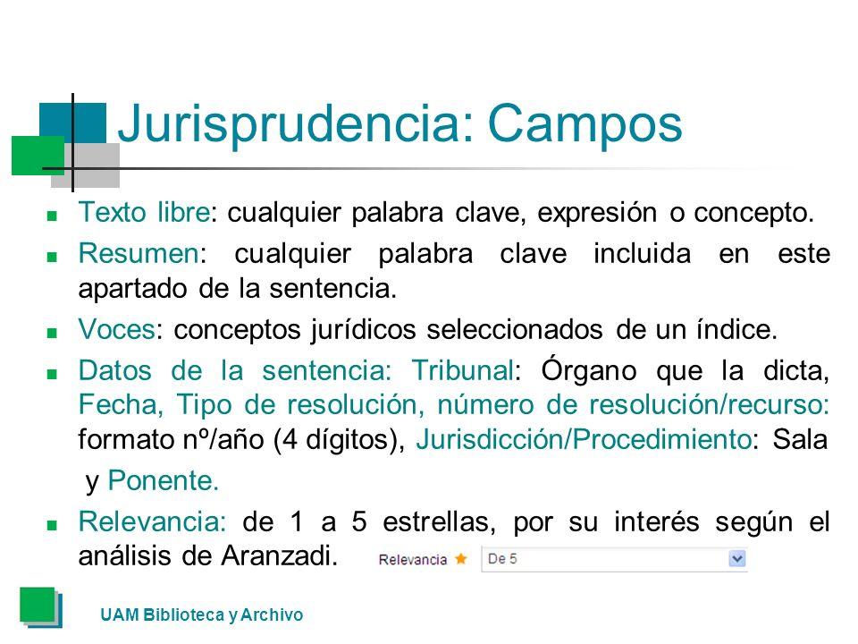 Jurisprudencia: Campos