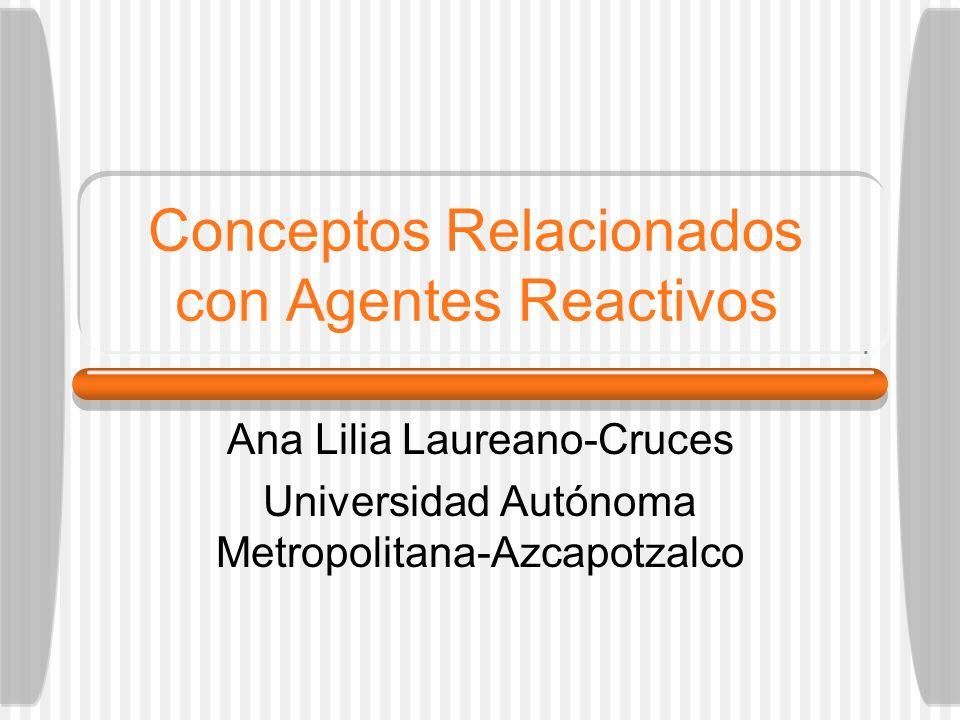 Conceptos Relacionados con Agentes Reactivos