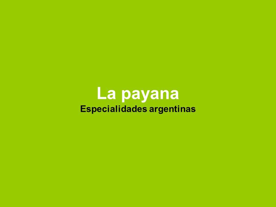 La payana Especialidades argentinas