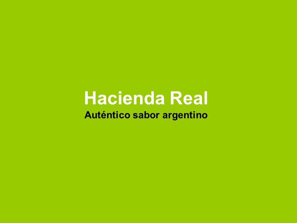 Hacienda Real Auténtico sabor argentino