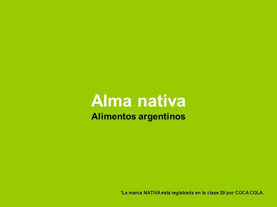 Alma nativa Alimentos argentinos