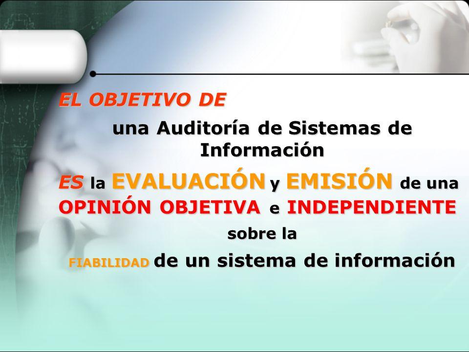 una Auditoría de Sistemas de Información