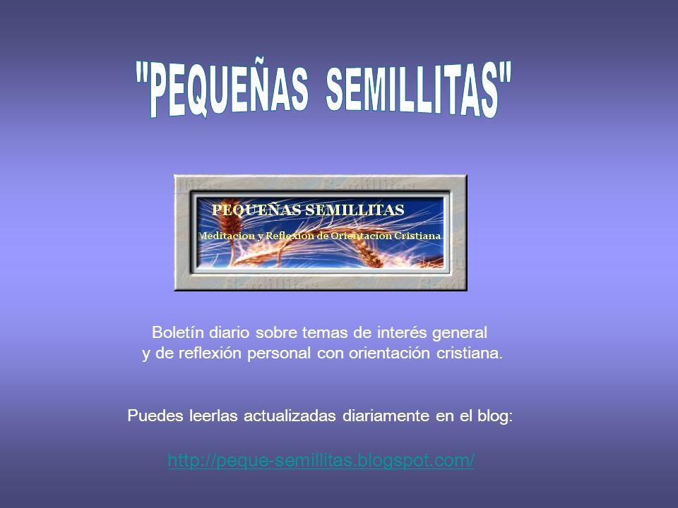 PEQUEÑAS SEMILLITAS http://peque-semillitas.blogspot.com/