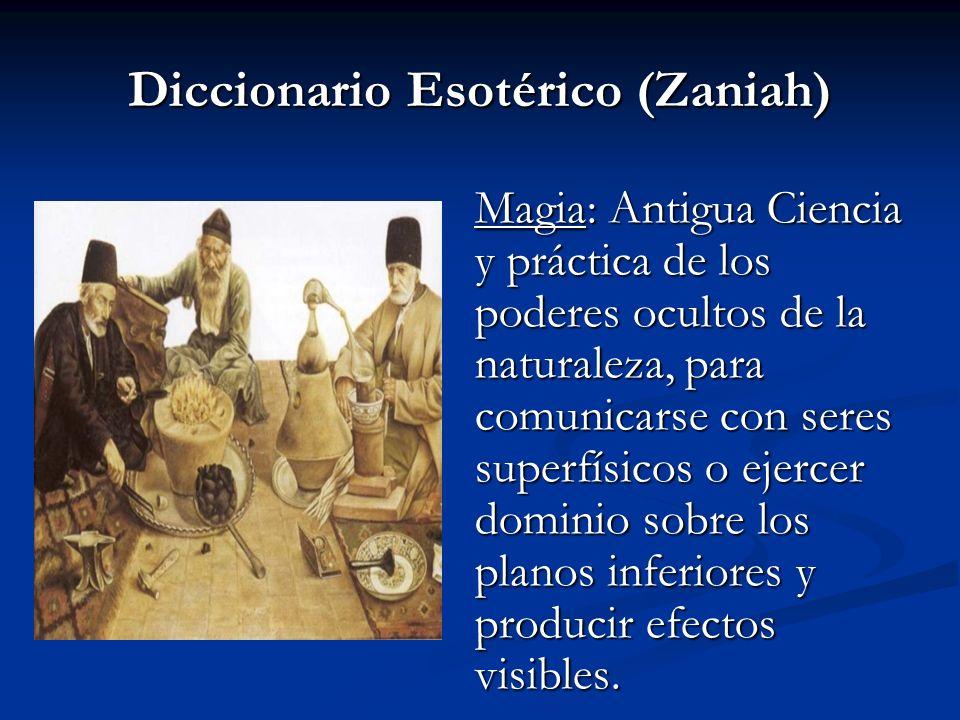 Diccionario Esotérico (Zaniah)