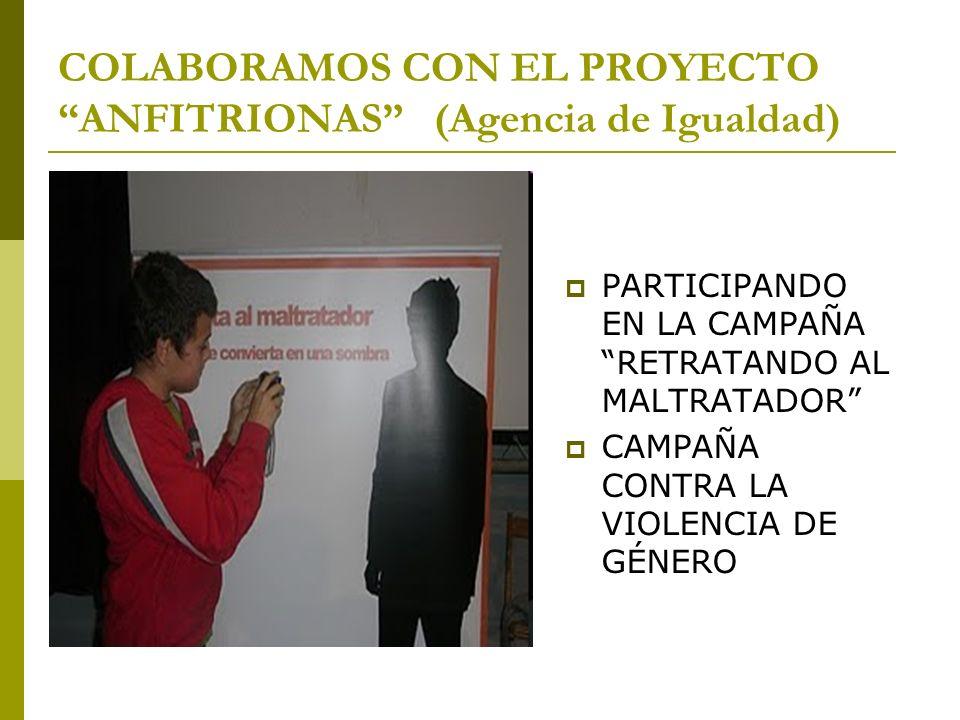 COLABORAMOS CON EL PROYECTO ANFITRIONAS (Agencia de Igualdad)