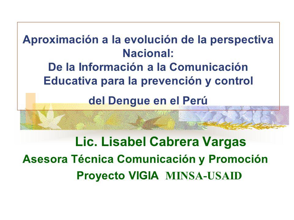 Lic. Lisabel Cabrera Vargas
