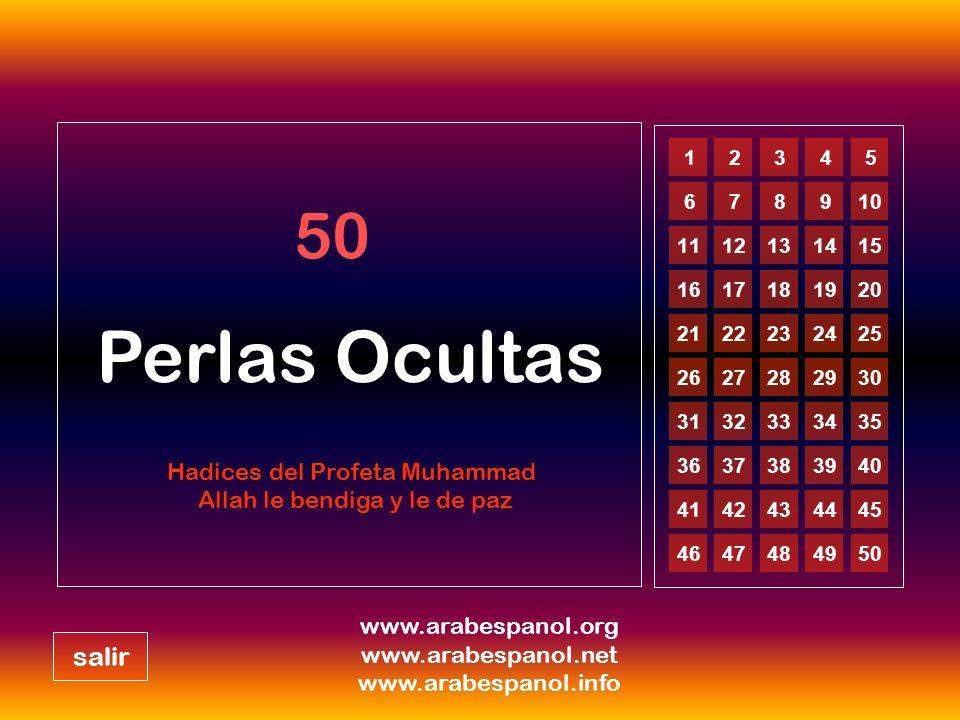 Perlas Ocultas 50 salir Hadices del Profeta Muhammad